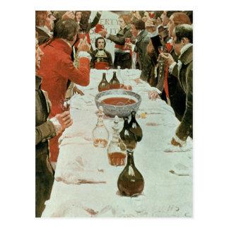 Carte Postale Un banquet à l'illustration de Genet de Washington