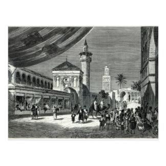 Carte Postale Un bazar à Tunis