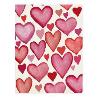 Carte Postale Un bon nombre d'amour