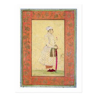 Carte Postale Un jeune noble de la cour de Mughal, du Lar
