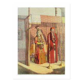 Carte Postale Un mariage juif, gravé par des pasteurs de