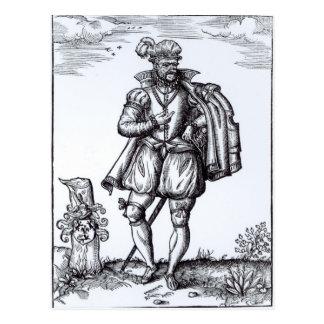 Carte Postale Un monsieur de Tudor