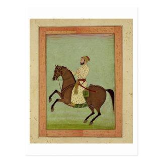 Carte Postale Un noble de Mughal à cheval, c.1790, du Larg