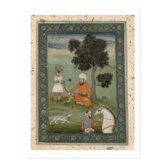 Carte Postale Un noble Transport-Oxonian assis sous un arbre,