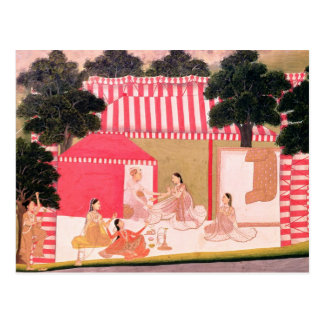 Carte Postale Un prince et son harem
