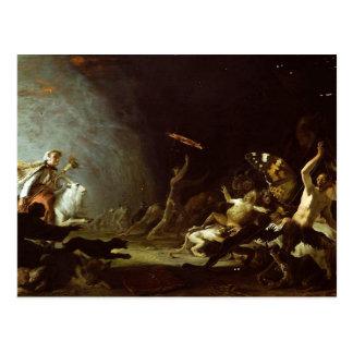 Carte Postale Un sabbat des sorcières