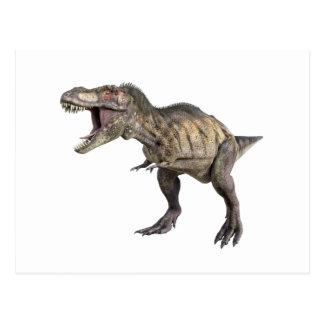 Carte Postale Un Tyrannosaurus Rex se tenant et semblant droit