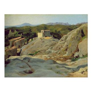 Carte Postale Un village dans les montagnes