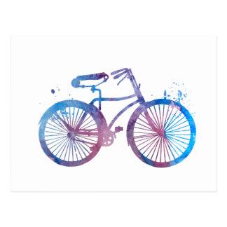 Carte Postale Une bicyclette