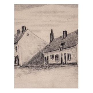 Carte Postale Une maison de Zandmennik par Vincent van Gogh