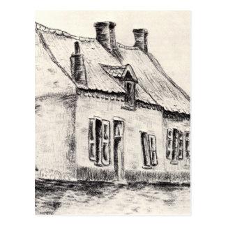Carte Postale Une maison Magros par Vincent van Gogh