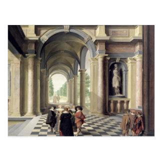 Carte Postale Une Renaissance Hall