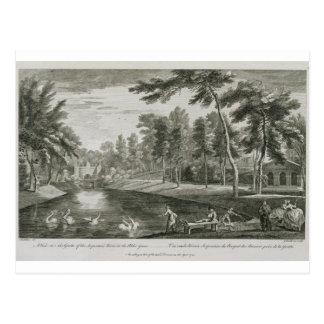 Carte Postale Une vue à la grotte de la rivière serpentine en Th