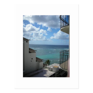 Carte Postale Une vue de Honolulu