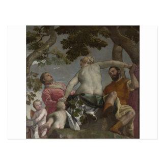Carte Postale Unfaithfulness par Paolo Veronese