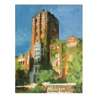 Carte Postale Union Ann Arbor du Michigan