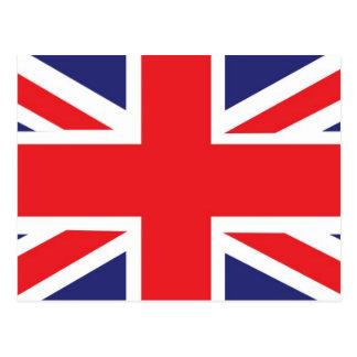 Carte Postale Union Jack de la Grande-Bretagne