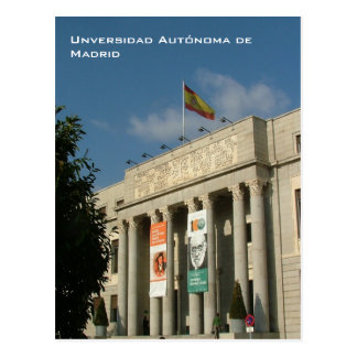 Carte Postale Universidad Autonoma De Madrid