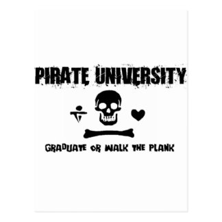 Carte Postale Université de pirate