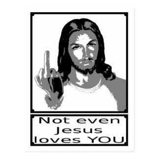 Carte Postale Urgence de Jesus loves even you
