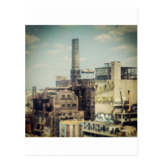 Carte Postale Usine de sucre de Brooklyn