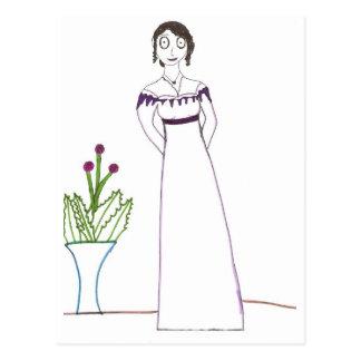 Carte Postale Usine déplaisante de Jane Austen