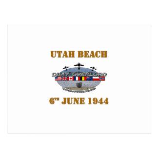 Carte Postale Utah Beach 6th June 1944