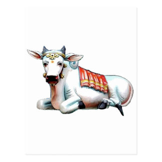 Carte Postale Vache à amour