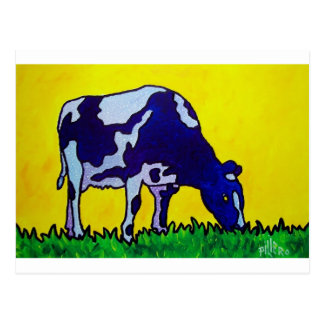 Carte Postale Vache magique