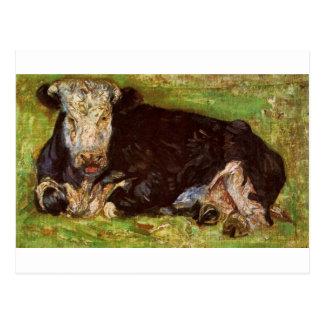 Carte Postale Vache menteuse par Vincent van Gogh