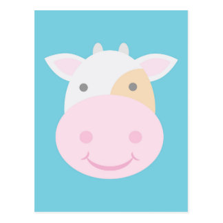 Carte Postale Vache mignonne