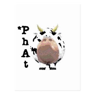 Carte Postale vache phat