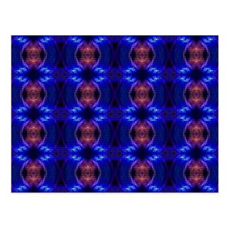 Carte Postale Vague de LED