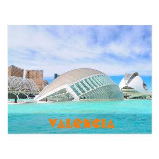 Carte Postale Valence, Espagne