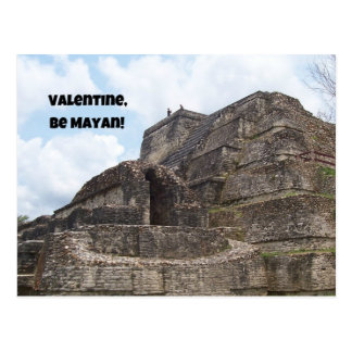 Carte Postale Valentine, soit maya !