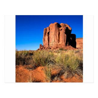 Carte Postale Vallée Arizona de monument de déserts