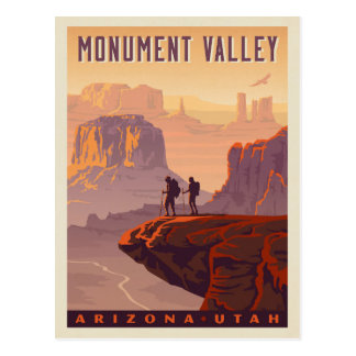 Carte Postale Vallée | Arizona et Utah de monument