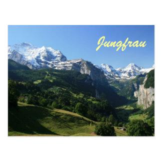 Carte Postale Vallée de Jungfrau