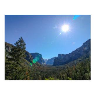 Carte Postale Vallée de Yosemite