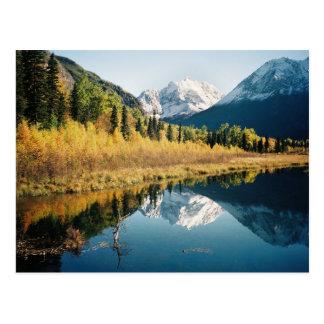 Carte Postale Vallée d'Eagle River d'automne
