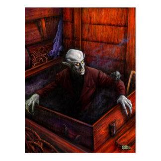 Carte Postale Vampire de Dracula Nosferatu