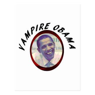 Carte Postale Vampire Obama