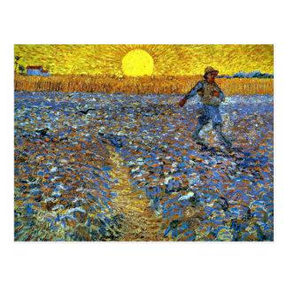 Carte Postale Van Gogh - le semeur