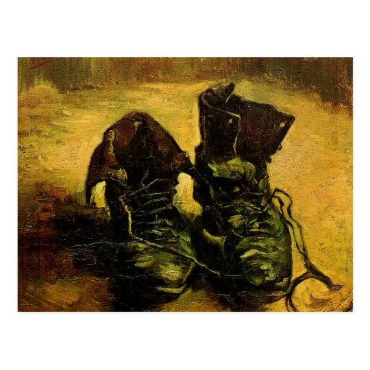 Paire Postale De Van ChaussuresCru Carte Toujours Gogh Par 1K3FJcTl