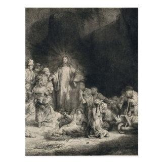 Carte Postale _van_Rijn_-_Christ_with_ de Rembrandt_Harmensz.