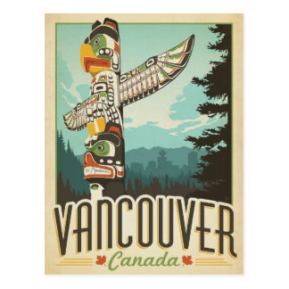 Carte Postale Vancouver, Canada