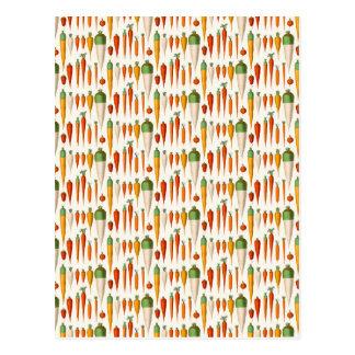 Carte Postale Variétés de carottes d'Ernst Benary