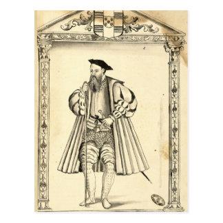 Carte Postale Vasco da Gama de 'Lendas DA India