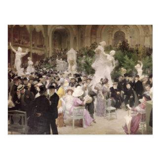 Carte Postale Vendredi chez Salon d'artistes français, 1911