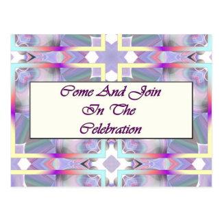Carte Postale Venez et associez-vous à la célébration